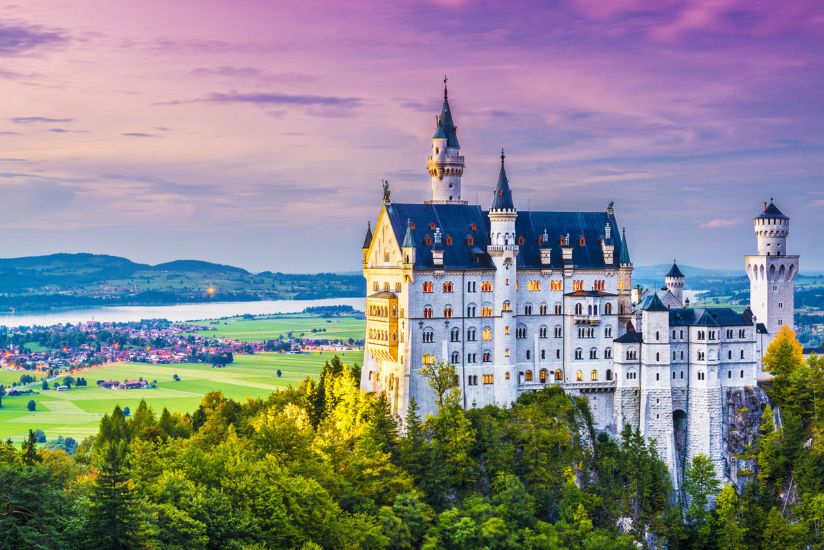 Neuschwanstein-Castle-best-romantic-destinations-in-europe