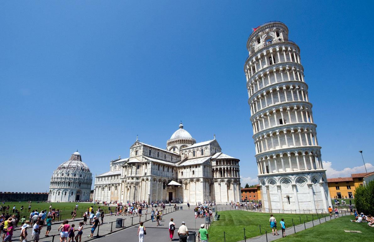 برج پیزا - بهترین مقصد اروپا