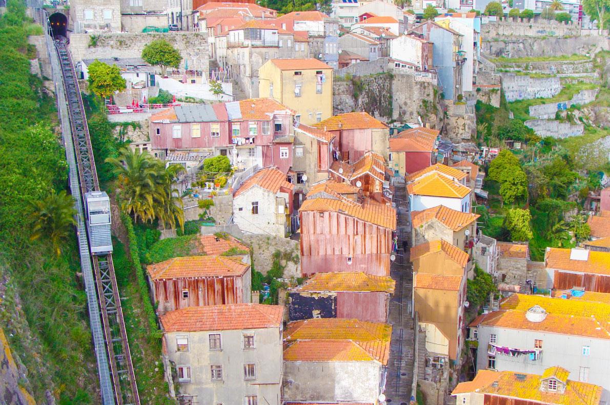 Elevador dos Guindais Porto funicular