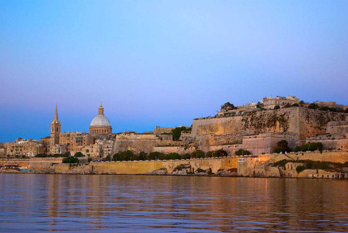 Valletta - Copyright Visit Malta