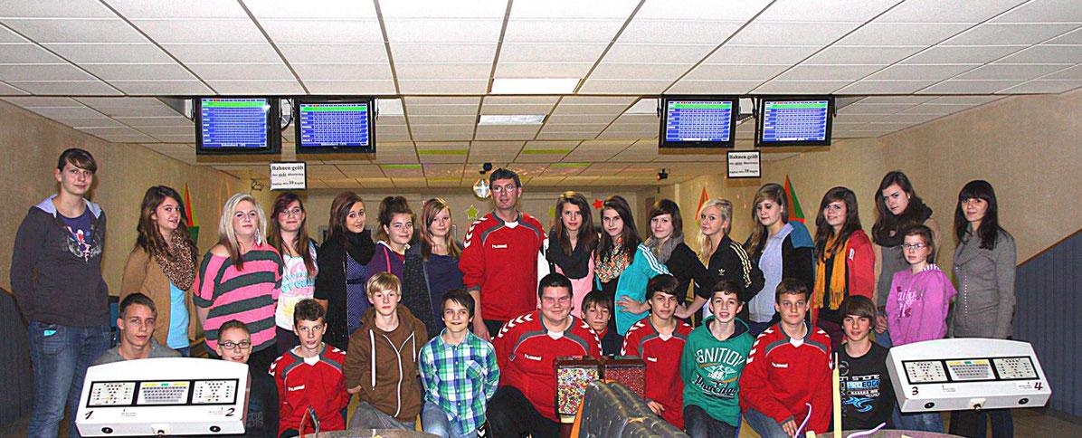 Weihnachtsfeier der C-Jugend-Teams am 05. 12. 2012