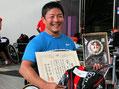 優勝 藤本佳伸 選手