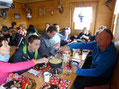 Cheese fondue on ATv tour
