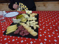 Home made Swiss food on ATV tour