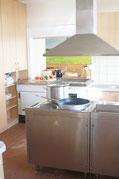 Küche Ferienhaus Fototapete Nordsee Carolinensiel
