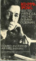 Emma Goldman. Red Emma speaks. (Book cover)
