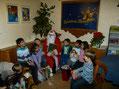 Der Nikolaus war da. 9.12.2012