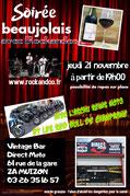 soirée beaujolais Reims Muizon 2019 concert Rockandco