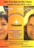 Concert Arche d'Alliance à Cannes le 29 mars 2014
