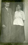 Emma und Hans Kargl (1884-1960), 1915. Walter Kargl, Hanau.