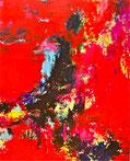 GEHEIMNIS   Acryl / Lwd. 80 x 100 cm