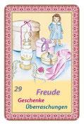 """Orakelkarte """"Freude und Geschenke"""""""