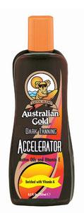 Dark Tanning Accelerator Iconic Australian Gold Zonnebank creme bronzer zoncosmetica DHA cosmetisch natuurlijk