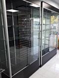 Vitrina aparadora, vitrinas verticales, vitrina