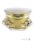 tarro cuadrado de acrílico para envases cosméticos