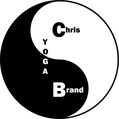 Yin Yang Chris Brand Yoga Logo