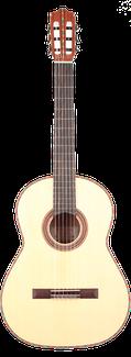 Flamenca Blanca - Flamencogitarre