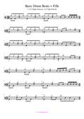 Schlagzeug lernen Anfänger Noten