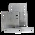 Piastre di Ribassamento per la regolazione in altezza del gancio di traino o del carrello posteriore per camper e furgoni.