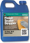A quart of Miracle Brand Finish and Sealer Stripper