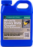 One quart of Miracle Brand Heavy Duty Acid Substitute Cleaner