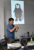 多摩美入学センター入試広報課長 川村先生の説得力のある講演