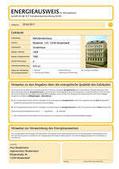 Beispiel Energieausweis Seite 1