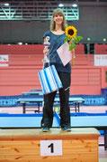 Anja Skokanitsch (TSV Herrlingen) gewann bei den Damen A.