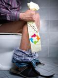 Toilette bouché 77