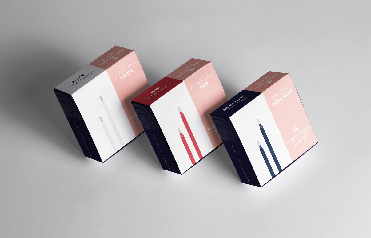 Marco Caerano Packaging Design