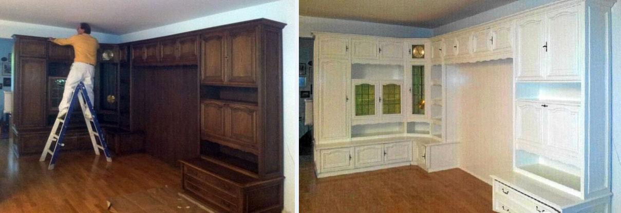 Alte Möbel streichen und sanieren