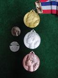 表彰 メダル