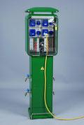 Torretas de suministro de agua y luz Con Sistema Pre Pago
