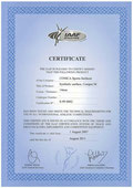 Certificat IAAF Conipur M