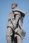 La statue de Timour à Shahrisabz (photo: M. Schvoerer, 2008)