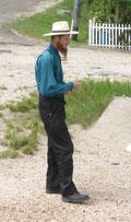 Ein Mennonite der herkömmlichen Art