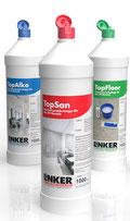 TopSan Sanitärreiniger , Linker Chemie