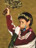 2004 Athens: Szusza Voros (HUN) wins gold