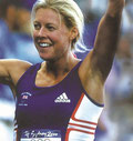 2000 Sydney: Steph Cook (GBR) wins the first ever Women's Olympic title