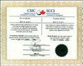 加拿大移民律师协会证书