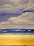 Strand und Meer Öl auf Leinwand