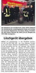 Bericht der Rhein-Zeitung