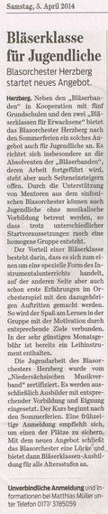Harzkurier, 5.4.2014
