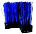 Terrazza TMC blaue Bürstenelemente