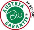 Kontrolliert und zertifiziert durch die Austria Bio Garantie. AT-BIO-301