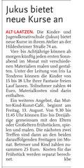 Leine-Nachrichten 06.08.2010