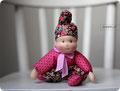 текстильная кукла от кукольной мастерской spbdolly