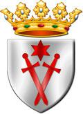Arma del Gran Maestro dell'Ordine Sovrano e Dinastico dei Cavalieri di Portaspada di Livonia