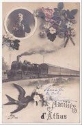 Carte Postale - Train