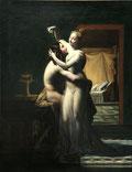 Pierre-Claude Delorme, Hero et Léandre, 1814, huile sur toile